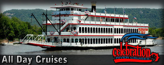 Celebration Belle Mississippi River All Day Cruises